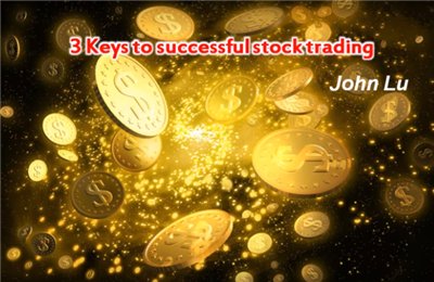 3 Keys to Successfeul Stock Trading