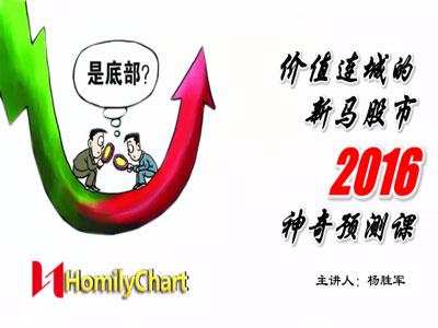 1.19宣教实战 价值连城的新马股市2016神奇预测课