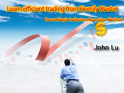 Learn efficient trading from Homily Master3-Secret Magic Indicators Operation Method