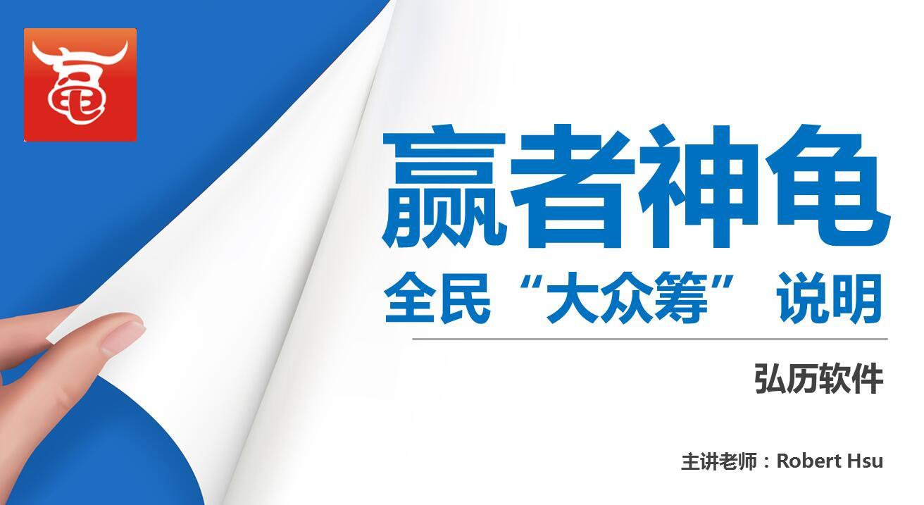 赢者神龟全民大众筹说明