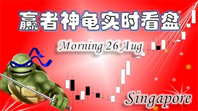 0826赢者神龟新加坡上午解盘