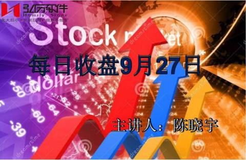 每日收盘 Market Analysis after close 27 of Sept