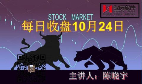 每日收盘 Market Analysis after close 24th of Oct