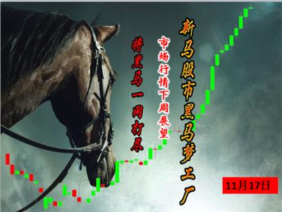 2017年11月17日—新马股市之黑马梦工厂(市场行情下周展望)  新加坡市场今天暴涨40个点,但是股票没怎么涨?市场是不是都看不清楚了呢?大马还在低位整理,各项数据公布是否能够刺激股市上涨呢?精彩尽在今天的课程中!  如果说大家要联系我 Wechat:homecsj716 Whatsapp:+6591332045