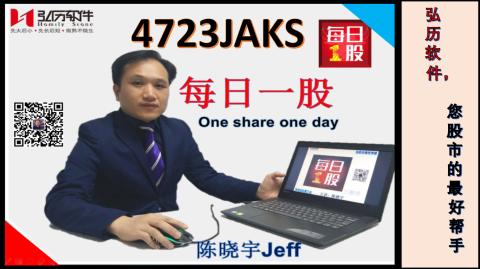 4723 JAKS 每日一股