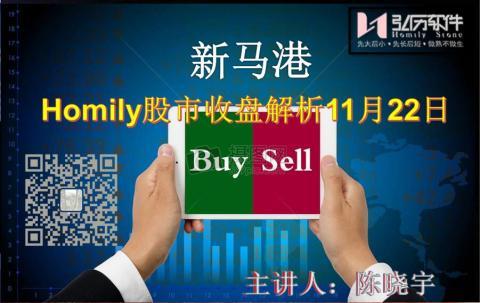 Homily 新马港股市收盘解析11月22日