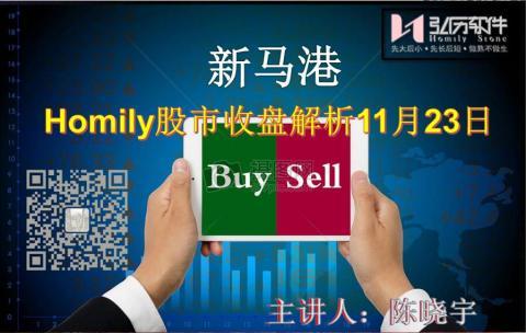 Homily 新马港股市收盘解析11月23日
