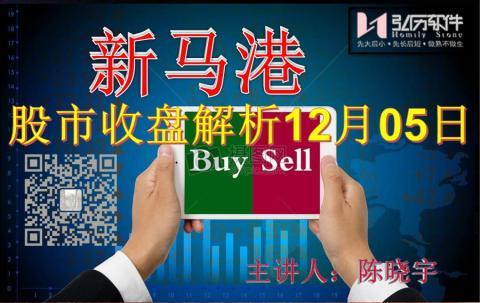 Homily 新马港股市收盘解析12月05日