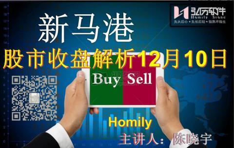 Homily 新马港股市收盘解析12月10日