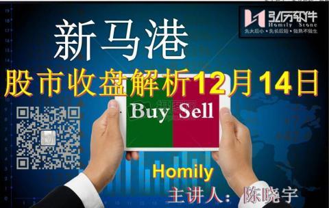 Homily 新马港股市收盘解析12月14日