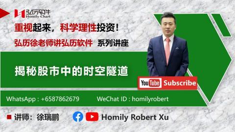 揭秘股市中的时空隧道 # 弘历徐老师讲弘历软件 # Homily Robert Xu # 弘历太极 + 时间黑洞